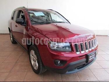 Jeep Compass 4x2 Latitude Aut usado (2014) color Rojo precio $192,000
