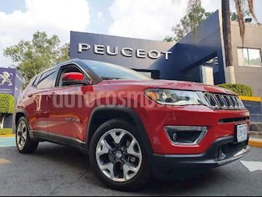 Jeep Compass 4x2 Limited Premium CVT usado (2019) color Rojo precio $429,900
