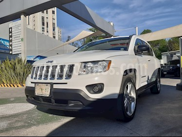 Jeep Compass 4x2 Limited Premium CVT  usado (2013) color Blanco precio $204,000