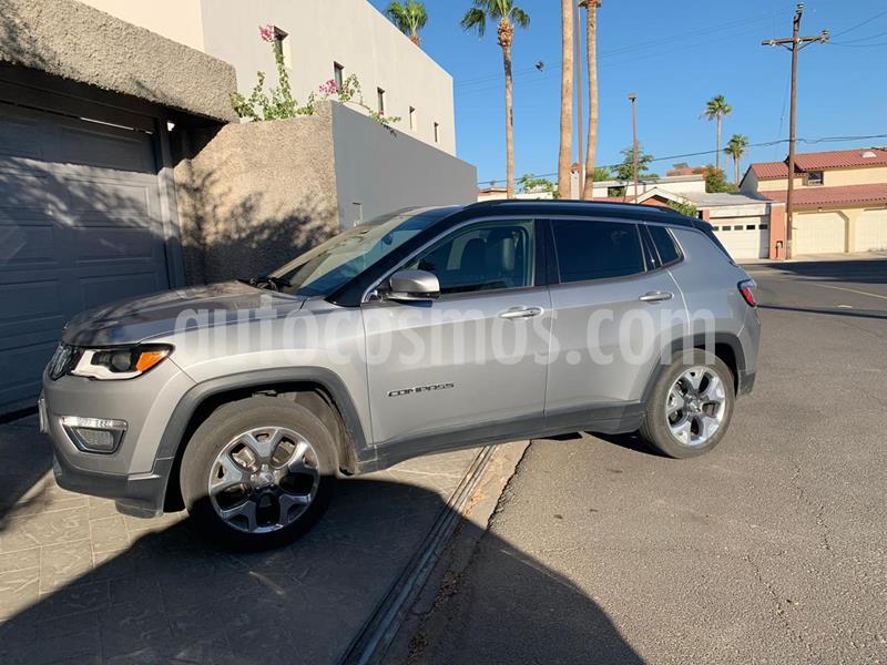 Jeep Compass 4x2 Limited Aut usado (2018) color Gris precio $350,000