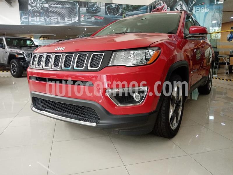 Jeep Compass Limited usado (2019) color Rojo precio $485,900