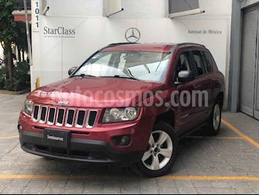 Jeep Compass 4x2 Latitude Aut usado (2014) color Rojo precio $165,000