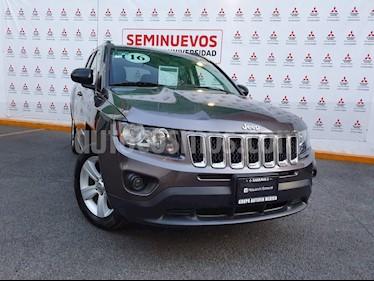 Jeep Compass 4x2 Latitude Aut usado (2016) color Granito precio $225,000