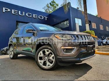Jeep Compass 4x2 Limited Aut usado (2018) color Gris precio $379,900