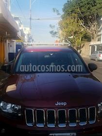 Jeep Compass 4x2 Latitude Aut usado (2014) color Rojo Cerezo precio $198,500