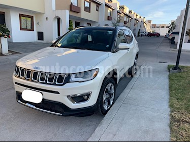 Jeep Compass 4x2 Limited Premium CVT Nav  usado (2018) color Blanco precio $349,000