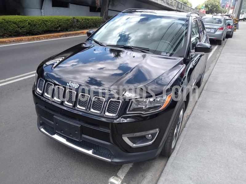 Jeep Compass 4x4 Limited CVT usado (2018) color Negro precio $358,000