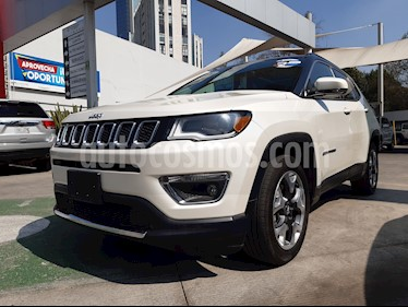Jeep Compass Limited Premium usado (2018) color Blanco precio $391,000