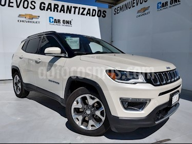Jeep Compass Limited Premium usado (2019) color Blanco precio $470,000