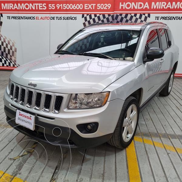 Foto Jeep Compass 4x2 Limited Premium CVT usado (2012) color Plata precio $173,000
