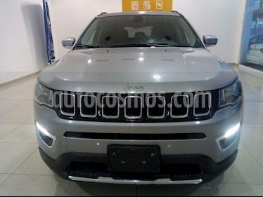 Jeep Compass 4x4 Limited CVT usado (2018) color Plata precio $370,000