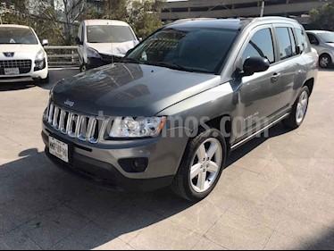 Jeep Compass 5p Limited CVT 4x2 usado (2013) color Plata precio $179,000