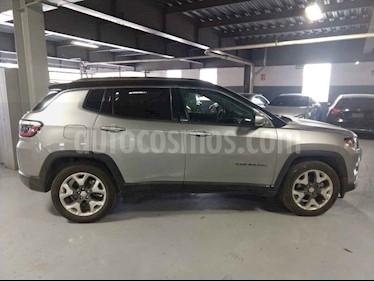 Jeep Compass 5p Limited Premium 4x2 L4/2.4 Aut usado (2018) color Gris precio $420,000