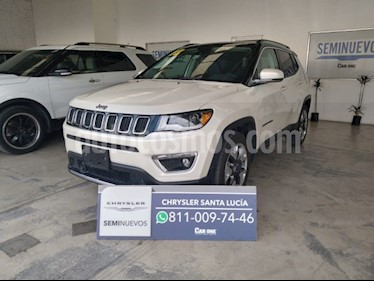 Jeep Compass 4x2 Limited Aut usado (2018) color Plata precio $420,000