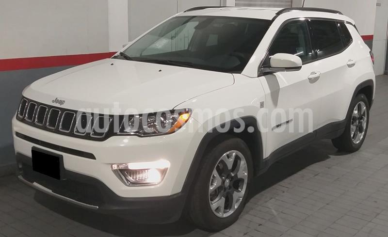 Jeep Compass 4x4 Limited CVT usado (2019) color Blanco precio $399,000
