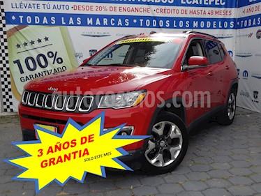 Jeep Compass 4x2 Latitude Aut usado (2018) color Rojo Cerezo precio $389,000