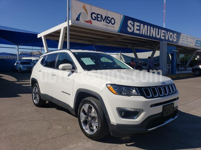Jeep Compass Limited usado (2018) color Blanco precio $370,000