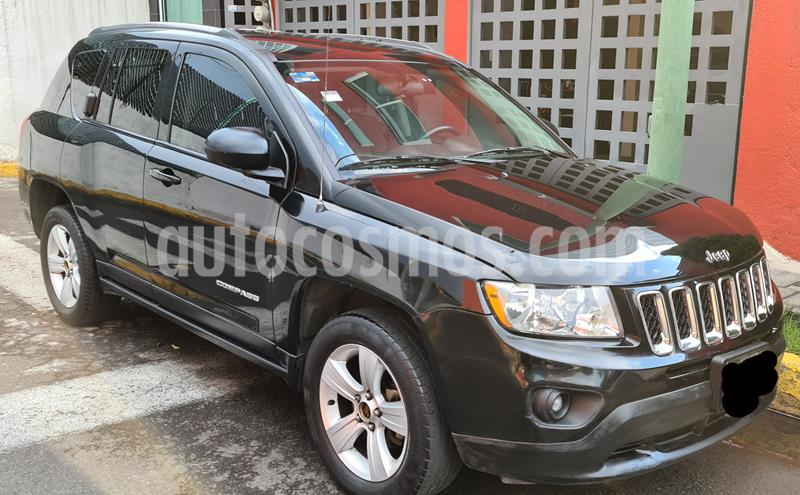 Jeep Compass 4x2 Sport CVT usado (2013) color Negro precio $143,000