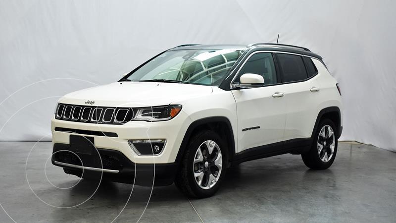 Jeep Compass Limited Premium usado (2019) color Blanco precio $458,000