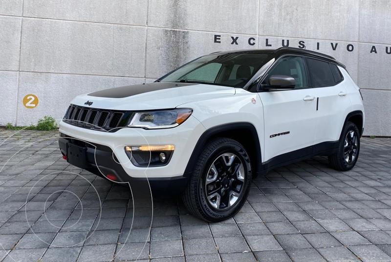 Jeep Compass Trailhawk 4X4 usado (2018) color Blanco precio $419,000