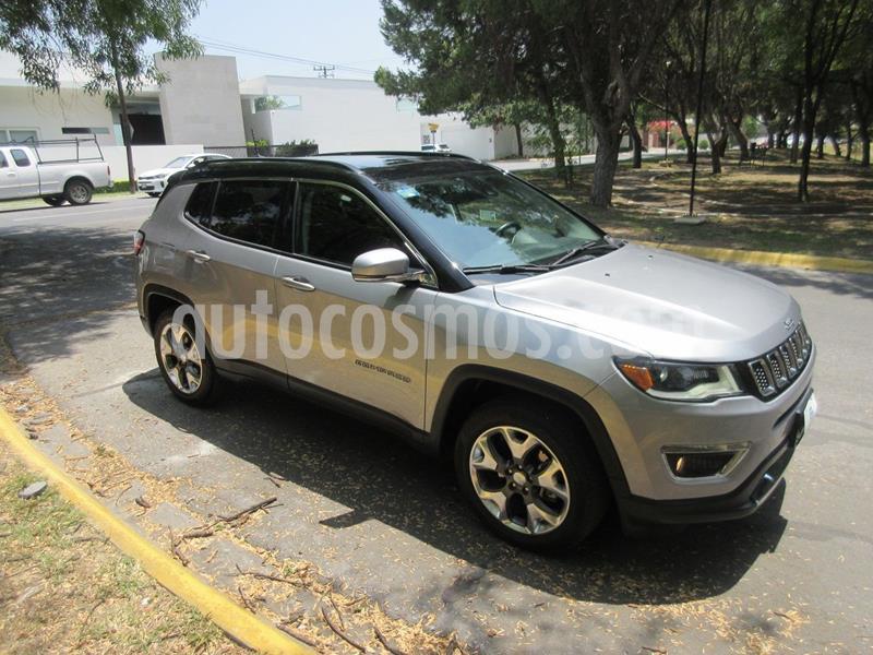 Jeep Compass Limited Premium usado (2018) color Plata precio $399,000