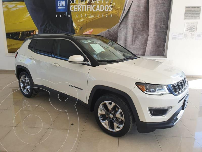 Foto Jeep Compass Limited Premium usado (2020) color Blanco precio $540,000