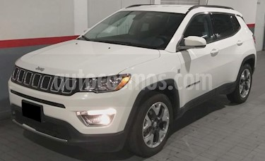 foto Jeep Compass 5P LIMITED TA A/AC. AUT. PIEL GPS RA-18 usado (2019) color Blanco precio $439,000
