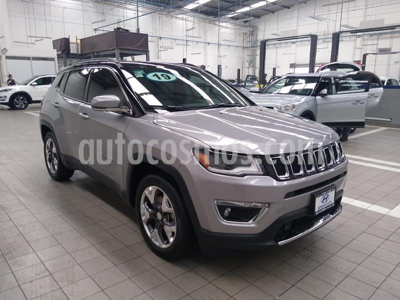 Jeep Compass Limited Premium usado (2019) color Plata precio $460,000