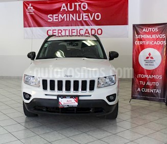 Jeep Compass 4x2 Limited Premium CVT  usado (2013) color Blanco precio $159,900