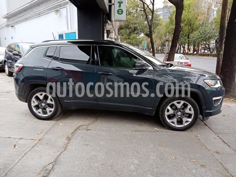Jeep Compass Limited Premium usado (2018) color Negro precio $380,000