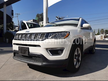 Jeep Compass 4x2 Limited Aut usado (2018) color Blanco precio $370,000
