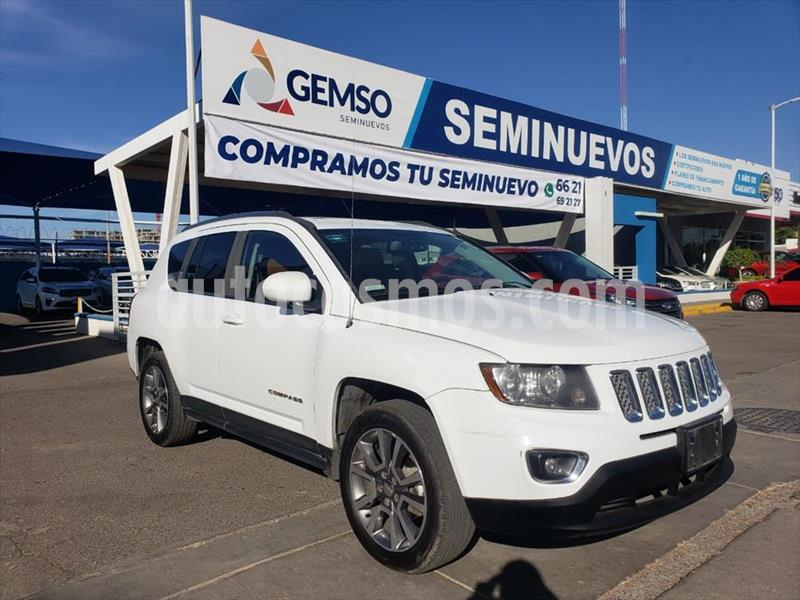 Jeep Compass 4x2 Limited Aut usado (2016) color Blanco precio $250,000