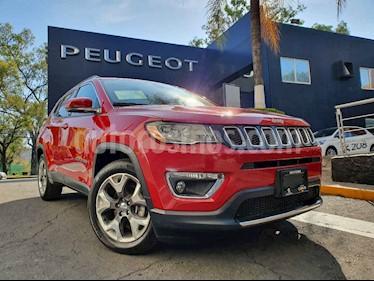 Jeep Compass 4x2 Limited Aut usado (2018) color Rojo precio $364,900