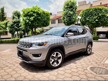 Jeep Compass Limited Premium usado (2018) color Granito precio $400,000