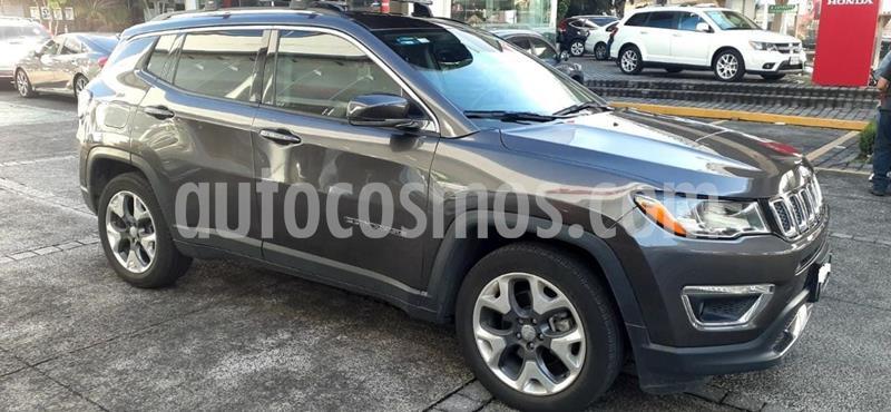 Jeep Compass 4x4 Limited CVT usado (2018) color Negro precio $379,000