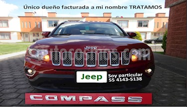 Jeep Compass 4x2 Limited Premium CVT Nav  usado (2016) color Rojo Cerezo precio $249,900