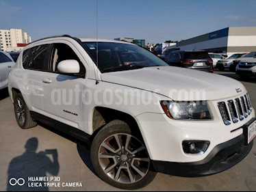 Jeep Compass 5p Limited 4x2 L4/2.4 Aut usado (2014) color Blanco precio $195,000