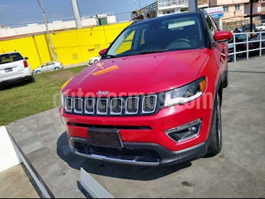 Jeep Compass 5p Limited Premium 4x2 L4/2.4 Aut usado (2018) color Rojo precio $383,500