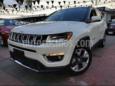 Jeep Compass 4x2 Limited Premium CVT  usado (2018) color Blanco precio $375,000