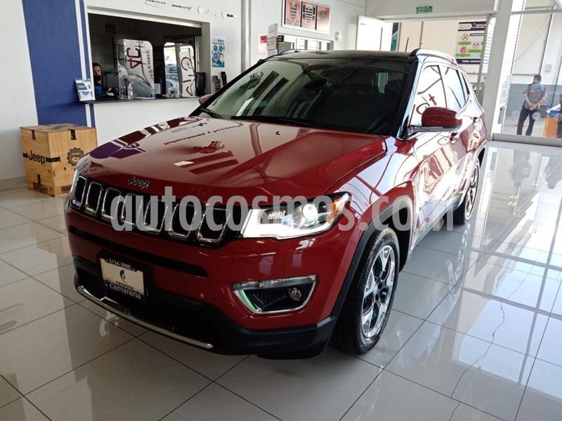 Jeep Compass Limited Premium usado (2019) color Rojo precio $470,000