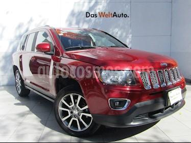 Jeep Compass 4x2 Limited Aut usado (2014) color Rojo Cerezo precio $199,000
