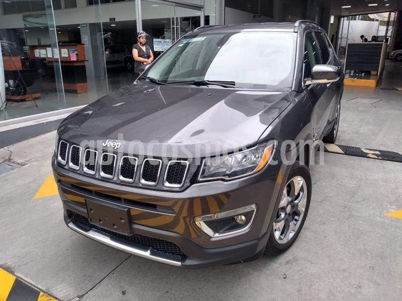 Jeep Compass 4x4 Limited CVT usado (2018) color Granito precio $348,000