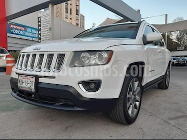 Jeep Compass 4x2 Limited Premium CVT  usado (2015) color Blanco precio $245,000