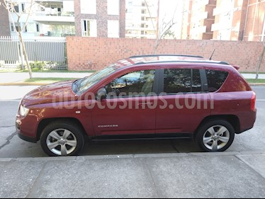 Jeep Compass  Sport 4x4  usado (2012) color Rojo Burdeos precio $7.100.000