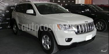 Foto venta Auto usado Jeep Grand Cherokee 5p Laredo Lujo V6/3.6 Aut 4x2 (2011) color Blanco precio $217,000