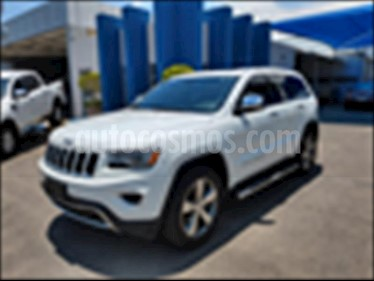 Jeep Grand Cherokee 5P LIMITED 4X2 V6 3.6 AUT NAV usado (2015) color Blanco precio $410,000
