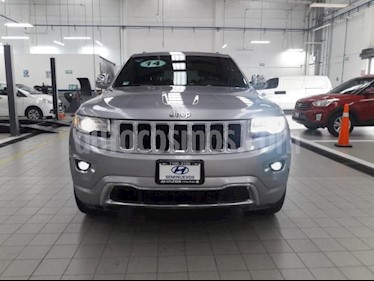 Foto Jeep Grand Cherokee 5p Limited 4x2 V6/3.6 Aut usado (2014) color Plata precio $370,000