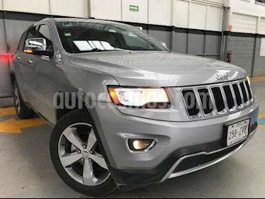 Foto venta Auto usado Jeep Grand Cherokee 5p Limited Lujo 4x2 V6/3.6 Aut (2014) color Gris precio $385,000