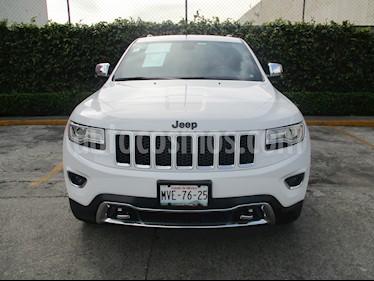 Foto venta Auto Seminuevo Jeep Grand Cherokee 5p Limited Lujo 4x2 V6/3.6 Aut (2015) color Blanco precio $530,000