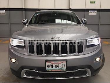 Foto venta Auto usado Jeep Grand Cherokee 5p Limited Lujo 4x2 V8/5.7 Aut (2015) color Plata precio $440,000
